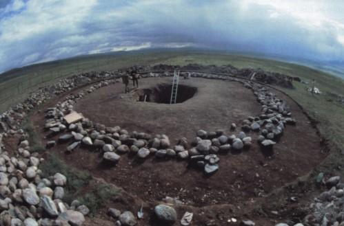 Tombe sur le Plateau Ukok