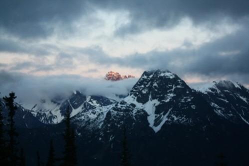 lorsque les montagnes s'endorment...