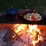 double foyer, je devient un pro de la cuisine au feu de bois!