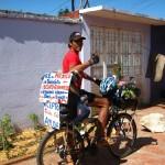 fransisco, un chilien en route pour le record de km