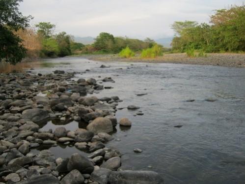 lorsque je croise une rivière... C'est le paradis... Pause un 17 Mars