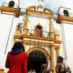 Devant l'église de Guadalupe.... tout y est!!