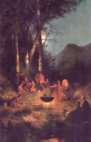 """ч.гуркин """"Kamlak"""", c'est la ou des Chamans, indispensables voyageurs d'entre les mondes, """"Kamleniaient"""", c.a.d jouaient du tambour pour appeller les Esprits"""